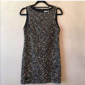 Alice+ Olivia MCKEE Sequin Dress 2 nwt FLAWS